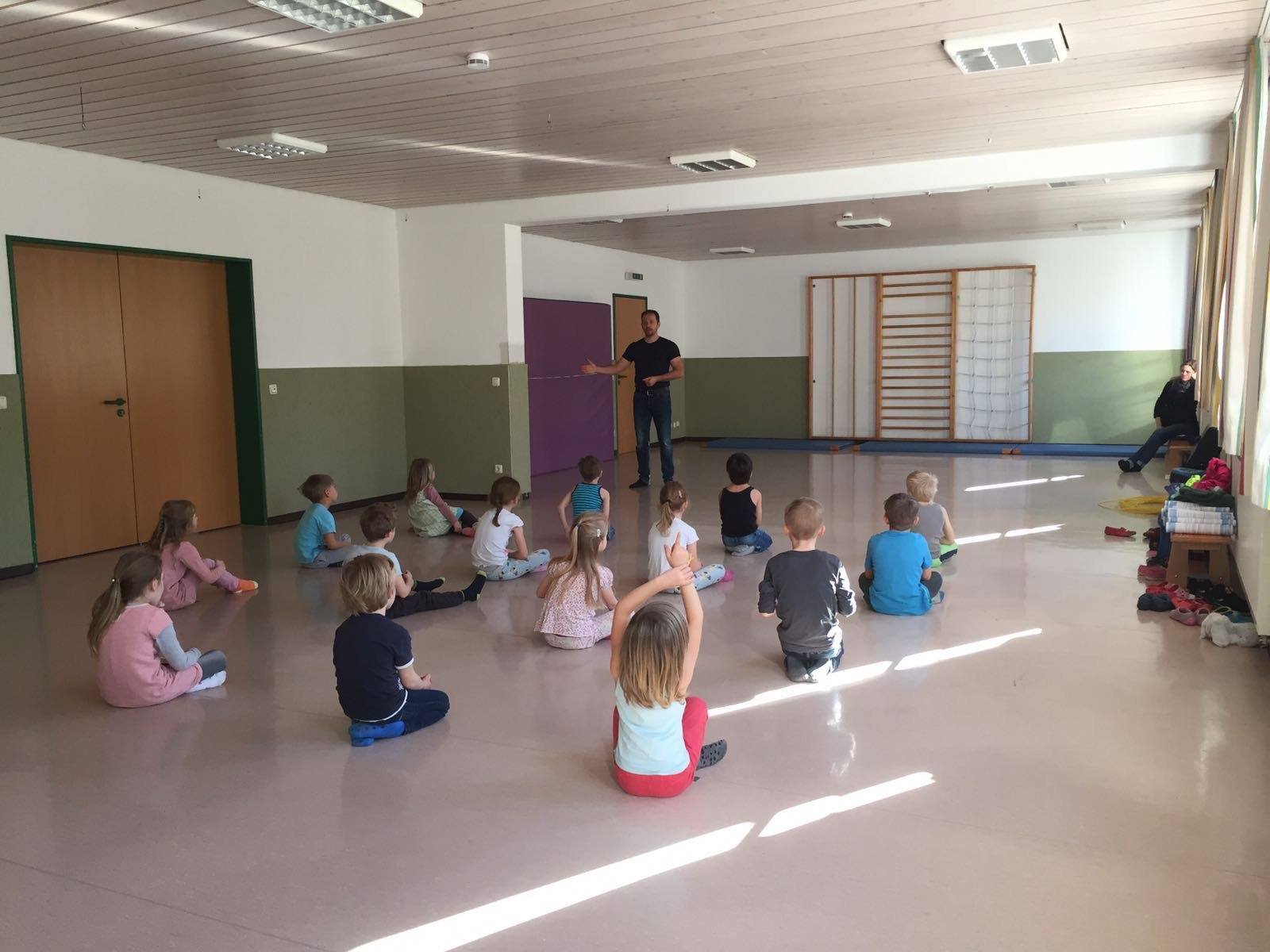 Anti - Mobbing Projekte im Kindergarten Waging Tengling